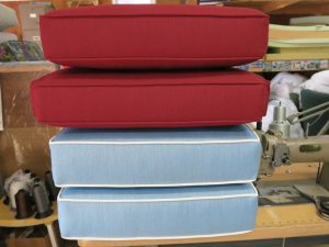 Sunbrella Cushions | Cape Cod Upholstery Shop | South Dennis, MA