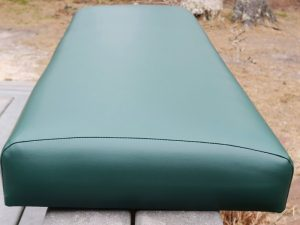 Clancy's Restaurant Booth Seat   Upholstered by Cape Cod Upholstery Shop   Located in South Dennis, MA