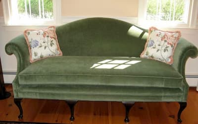Photo of upholstered chair | 2007 Photo Gallery | Cape Cod Upholstery Shop | South Dennis, MA 02660