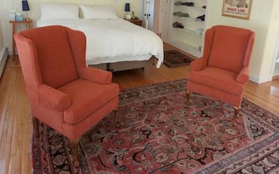 Photo of upholstered chair | 2013 Photo Gallery | Cape Cod Upholstery Shop | South Dennis, MA 02660