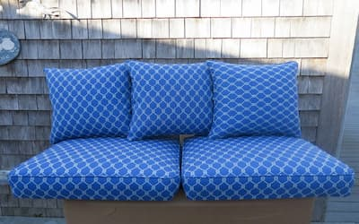 Photo of upholstered chair | 2017 Photo Gallery | Cape Cod Upholstery Shop | South Dennis, MA 02660