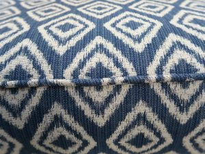 Pattern Match on a Greenhouse Fabric | Upholstered by Cape Cod Upholstery Shop | Located in South Dennis, MA