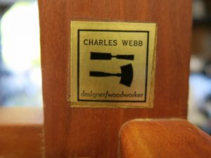 Charles Webb Furniture Label | Cape Cod Upholstery Shop | Located in South Dennis, MA 02660